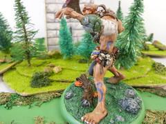 gus4 (Giantnerdguy) Tags: giant fantasy miniature mini scarab axe rust gem rocks frog rabbit mushroom moss paint skin loincloth belts skulls chainmail pink brown red white grey green orange nemesismini