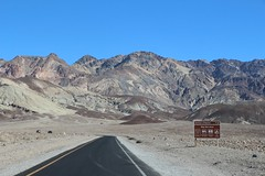 0178 Driving on Artists Drive in Death Valley (_JFR_) Tags: camping hiking deathvalley deathvalleynationalpark artistsdrive