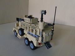 Lego MRAP Cougar JERRV 6x6 (2) (Parm Brick) Tags: lego military army modern warfare custom afol mod moc mrap jerrv cougar 6x6 truck mrapcougarjerrv6x6