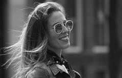 Sweetest Smile (Photographer : Hans Stellingwerf) Tags: amsterdam damamsterdam straatfotografie streetphotography street nederland netherlands holland mensen people straatmoment portret portrait smile