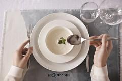 5296ddc4 Middagsservise sett astra (serviser24.nettbutikk) Tags: middagsservise sett  astra gul linje personer