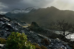 Snowdon (PentlandPirate of the North) Tags: snowdon snowdonia llynperis dinorwic dinorwig slate quarry gwynedd grey