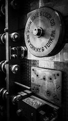 Part of an old New York Safe & Lock Co Vault Door (Yuri Dedulin) Tags: lock old monochrome steel locksmith security door safe vault vaultdoor metal blackandwhite bw blackwhite grayscale yuri dedulin 2018 new york lockco pa boston massachusetts building history weekend travel