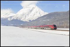 Railjet 165, Flaurling (J. Bakker) Tags: railjet öbb 1116 242 207 taurus 165 flaurling oostenrijk