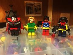 X-fellas (Lord Allo) Tags: lego marvel xmen mister sinister banshee thunderbird bishop