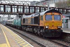 66747 (Great Eastern Rail Photography) Tags: class66 gbrf stratfordstation
