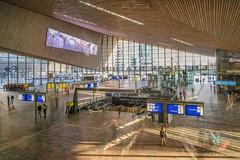 Rotterdam Centraal (thijs.coppus) Tags: longexposure travel reizen zug train centraalstation hal cs centraal railway bahnhof station holland niederlande nederland netherlands rotterdam