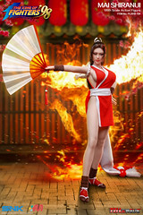 PHICEN PL2019-134 Mai Shiranui 不知火舞 SNK King of Fighters - 02 (Lord Dragon 龍王爺) Tags: 16scale 12inscale onesixthscale actionfigure doll hot toys phicen tbleague seamless
