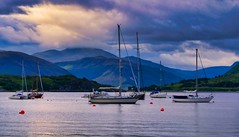 Early Morning Light over Loch Broom (gixerbrian1964) Tags: loch broom ullapool yacht landscape
