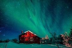 Green shower (mousstique) Tags: landscape snow winter winterscape finland auroraborealis northernlights aurora