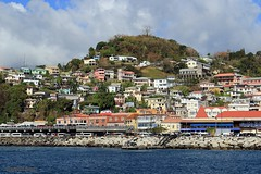 J78A0773 (M0JRA) Tags: st georges grenada cruise cruises boats ships sea waves ports tugs pilot harbour people sky sun rays clouds