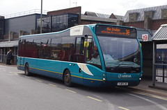 IMGP8664 (Steve Guess) Tags: arriva guildford westsurrey surrey england gb uk bus friary station optare versa 4207 yj61cjo