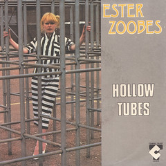 Ester Zoobes - Hollow tubes/Telephone 45rpm (oopswhoops) Tags: vinyl 45rpm synth synthpop newwave zoobes telephone talar
