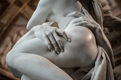 (ilConte) Tags: rattodiproserpina rapeofproserpina gianlorenzobernini bernini galleriaborghese roma rome italy marble marmo statua statue sculpture scultura
