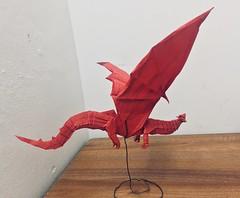 Dragon (Lê Huỳnh Đức) Tags: origamidragon origami dragon art paperart papersculpture papercraft fantasy