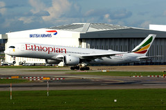 Ethiopian Airlines | Airbus A350-900 | ET-AVB | London Heathrow (Dennis HKG) Tags: aircraft airplane airport plane planespotting staralliance canon 7d 100400 london heathrow egll lhr ethiopia ethiopian ethiopianairlines eth et airbus a350 a350900 airbusa350 airbusa350900 etavb