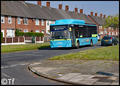 Arriva North West - OW17 WNL (2) (Tf91) Tags: arriva arrivanorthwest arrivabus man ecofriendly ecocity 5018 ow17wnl 500 runcorn widnes hale speke liverpool liverpoolbuses