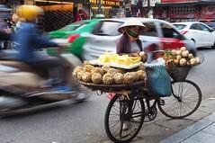 streets of hanoi (juliemfriedl) Tags: explore visualsoflife bicycle olympus streetphoto streetphotography wanderlust travel vietnam hanoi street