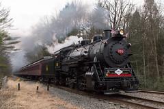 CNJ 113 @ Pottsville, PA (Dan A. Davis) Tags: cnj113 project113 centralrailroadofnewjersey cnj steamengine steamlocomotive 060 railroad locomotive train rbmn readingandnorthern cressona westcressona pottsville pa pennsylvania