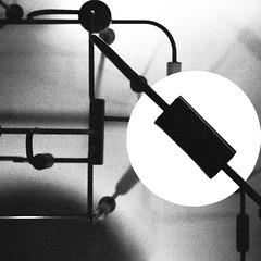 Jumble (Jeff Heurteur) Tags: abstract abstrait analog film 35mm minimal minimalism minimalisme monochrome monochromie monochromy black blanc blackandwhite blackwhite white noir noiretblanc noirblanc nb light lightroom jumble bordel kodak kodaktrix400 canon canon300v canon50mmf18 plafond industriel industrial