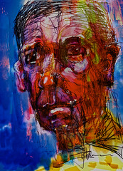 """Billy II (""""Jimmer"""" ( http://jim-vance.pixels.com )) Tags: portrait abstract"""