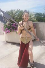 SDCC 2018 - 1799 (Photography by J Krolak) Tags: costume cosplay masquerade comicconvention sdcc2018 starwars princessleia slaveleia