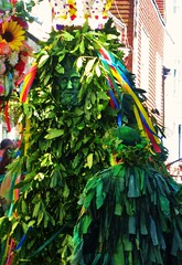 The Jack (teaselbrush) Tags: hastings east sussex uk british seaside town coast coastal jackinthegreen jack green may mayday folklore pagan festival man parade costume traditional english spring fertility ritual leaves ribbons flowers