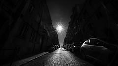 high noon (Hendrik Lohmann) Tags: streetphotography street sun sunlight people portugal lisboa light lisbon lissabon blackandwhite bwstreet bnw bw urban urbanart