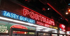 Portillo's (debstromquist) Tags: portillos fastfood restaurants neonsigns oswego il illinois oneofmyfavoriteplacestoeat inexplore redandbluecommenton2 signssignals
