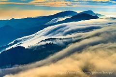 雲瀑 (Benz Yu) Tags: 頂石棹 大阿里山 台18線 阿里山公路 培仔桶林道 雲海 雲瀑 山岳 石棹山 龍頭山 隙頂山 風景