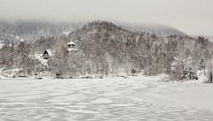 Smrznuto jezero u Mrzloj Vodici (MountMan Photo) Tags: jezero mrzlavodica gorskikotar primorskogoranska croatia smrznutojezero zima winter snijeg snow magla fog flickrunitedaward
