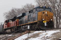 one of many M337s (DonnieMarcos) Tags: m337 cn canadiannational rail railroad railway railfan railfanning rails trains train freighttrains freight freighttrain freeport freeportsub cnfreeportsub cnr cnm337 cnm33791 m33791 berwyn berwynil chicago