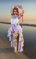 _MG_9013 (Mauro Petrolati) Tags: elisa runeterrae cosplay cosplayer rimini 2018 comix set alba sunrise spiaggia beach love live maki nishikino angel sea mare idol