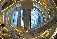 Shanghai - IFC Mall (cnmark) Tags: china shanghai pudong lujiazui financial district bright light building interior modern architecture ifc shopping mall escalators rolltreppen atrium 中国 上海 浦东 陆家嘴 世纪大道 国金中心 商场 ©allrightsreserved