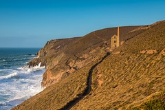 Towanroath late afternoon (mqmquilter) Tags: coast coasts cornwall nationaltrust tinmines towanroath whealcoates