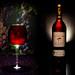 Wein und Glas