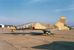 SF-5A A9-051 23-29 Ala23 (spbullimore) Tags: real la talavera 1996 aire del ejercito force air spanish spain ala23 23 ala 2327 a9041 sf5a f5 fighter freedom northrop aircraft sky 2329 a9051