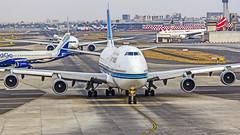"""Kuwait Airways Boeing B747-400 9K-ADE """"Al Jabariya"""" Mumbai (VABB/BOM) (Aiel) Tags: kuwaitairways boeing b747 b747400 9kade aljabariya mumbai canon60d"""