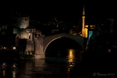 Stari Most (MacGeizer) Tags: stari most old bridge nightscape mostar bosna bosnië