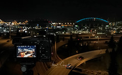 Capturing Night Photography (4 Pete Seek) Tags: seattle seattlewashington seattlecityscape seattlewa downtownseattle urbanseattle night nightphotography nightcityscape cityscape cityscapephotography urbanphotography iphonephotography iphonenightphotography drjoserizalbridge