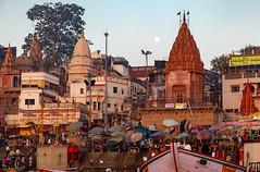 Varanasi, India (Ninara) Tags: varanasi india uttarpradesh ghat ganges ganga gangaaarti sadhu nagasadhu sunrise morning bathing holycity prayagghat dashashwamedh kashi benares