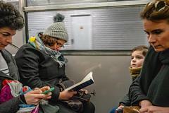 Le métropolitain parisien (maduzooma) Tags: 2019 année france paris voyage