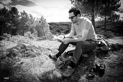 Vacances dans le Morbihan - Bretagne (S@titi) Tags: illeetvilaine forêtdebroceliande forêtdepaimpont broceliande paimpont bretagne forêt arbresremarquables parcoursdeshindrés tréhorenteuc noiretblanc blackandwhite satiti