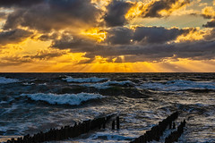 Jetty - leaving for a Trip, will be back March 20, 2019!! (*Capture the Moment*) Tags: 2018 clouds fotoshooting fotowalk himmel insel island landscape landschaft september sky sonnenuntergang sonya7miii sonya7mark3 sonya7m3 sonya7iii sonyilce7m3 sunset sylt waves wellen wetter wolken cloudy wolkig