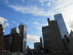2019 February Building Cloud Reflection 2571 (Brechtbug) Tags: 2019 february afternoon light again virtual clock tower from hells kitchen clinton near times square broadway nyc 02272019 new york city midtown manhattan winter weather building breezy cloud hell s nemo southern view