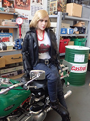 1/6th Scale Female Action Figure (Camwader Jon) Tags: 16 16th 16thscale femaleactionfigure cygirl camwader camwadersgarage