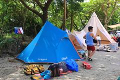 IMG_7356 (諾雅爾菲) Tags: taiwan camping 台灣 墾丁 露營 香蕉灣原始林露營區 熊帳 coleman 印地安帳