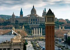 National Palace, Barcelona, Spain (rmk2112rmk) Tags: nationalpalace barcelona spain palaunacional mnac palace architecture building cityscape city landmark