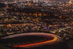 Classic loop (karinavera) Tags: 70200 city longexposure night photography cityscape urban ilcea7m2 sunset sanfrancisco loop twinpeaks california traffic