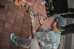 Lester of Embercore (Matt Nicolas Trinidad) Tags: philippines opm rakrakan event concert stage laguna represent losbanos lb elbi esp guitars drums bass strings crowd wild excellent maybe drink alcohol beverages plenty stuff going cap new meta stance logo hip hop ibanez prs case hard